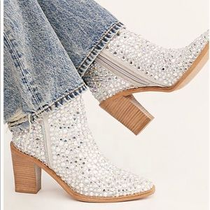 New Free People Barclay Backstage Heel Boots